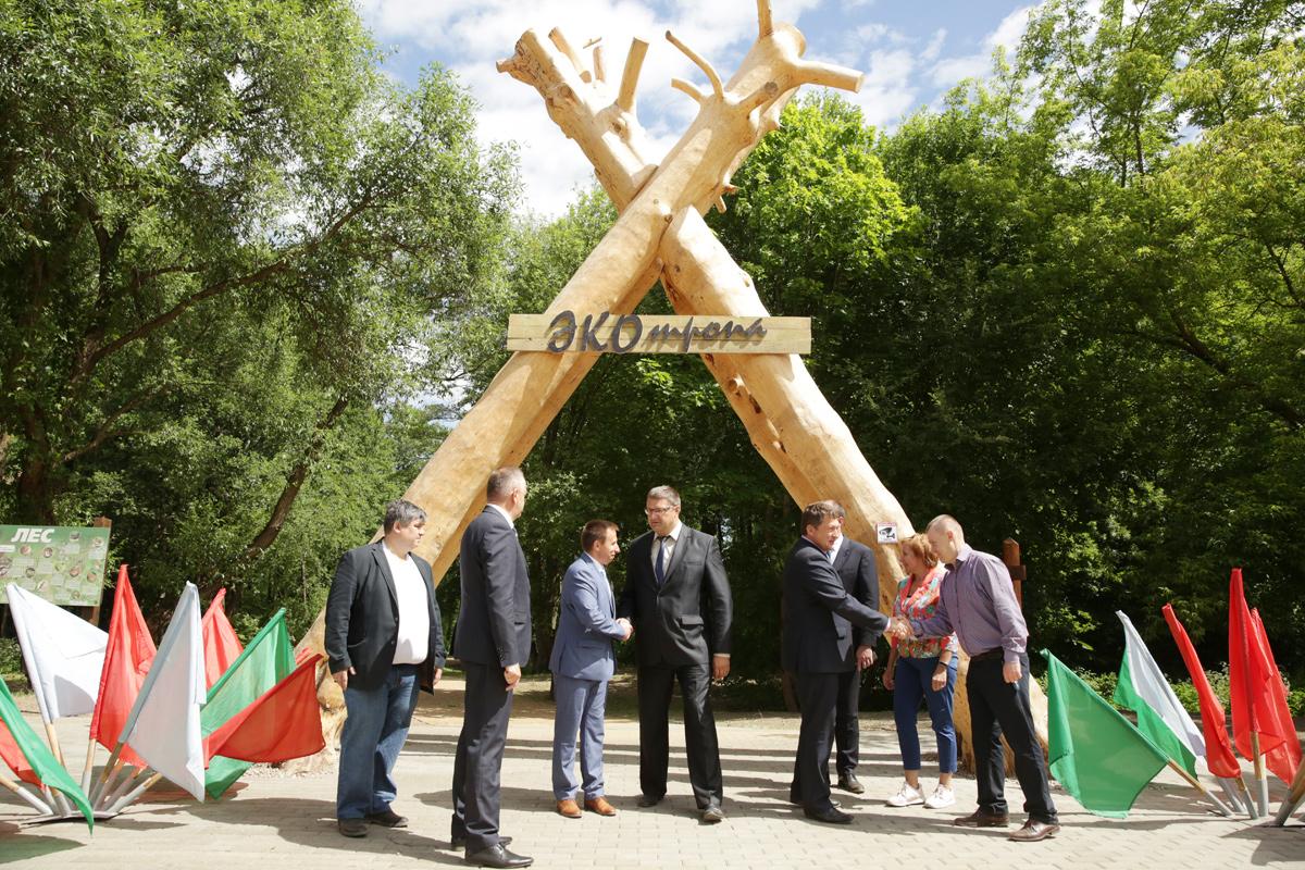 Экотропа в Заводском районе Минска