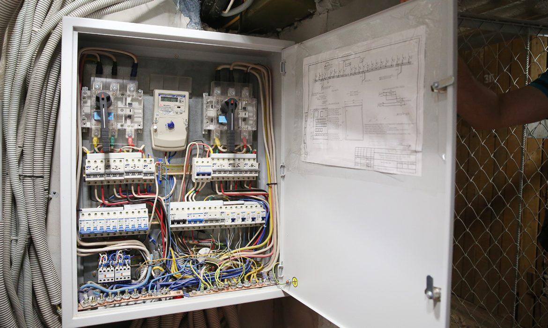 общедомовой электросчетчик