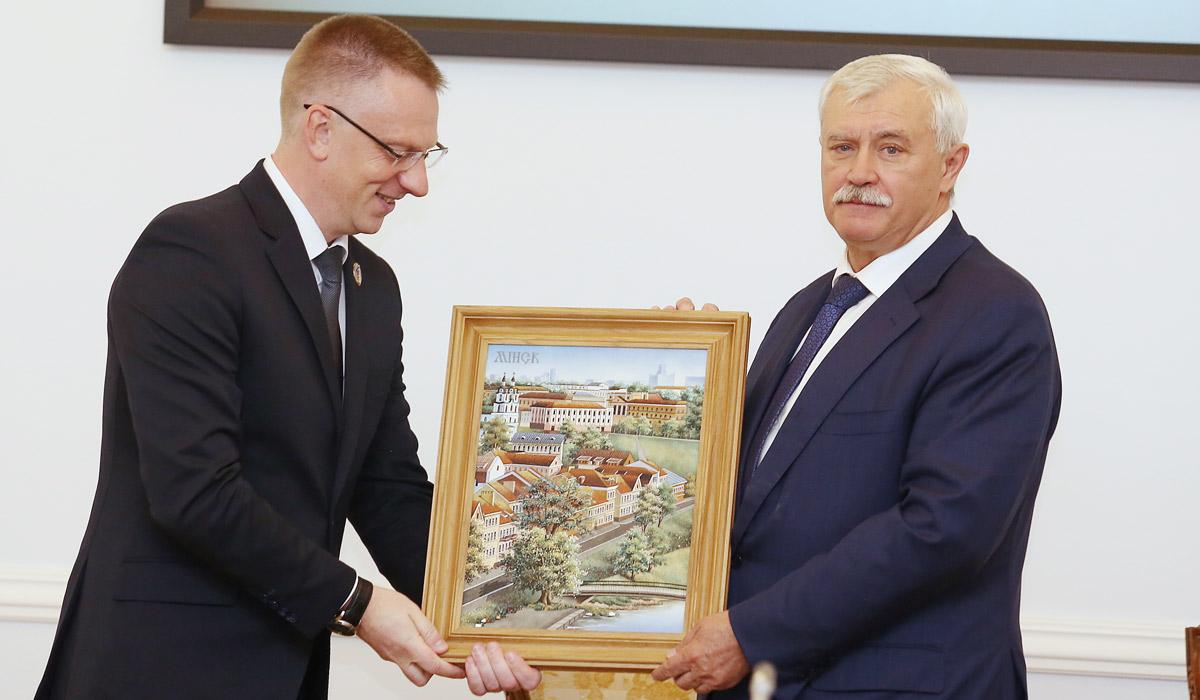 Федор Римашевский и Георгий Полтавченко