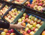 яблоки, супермаркет