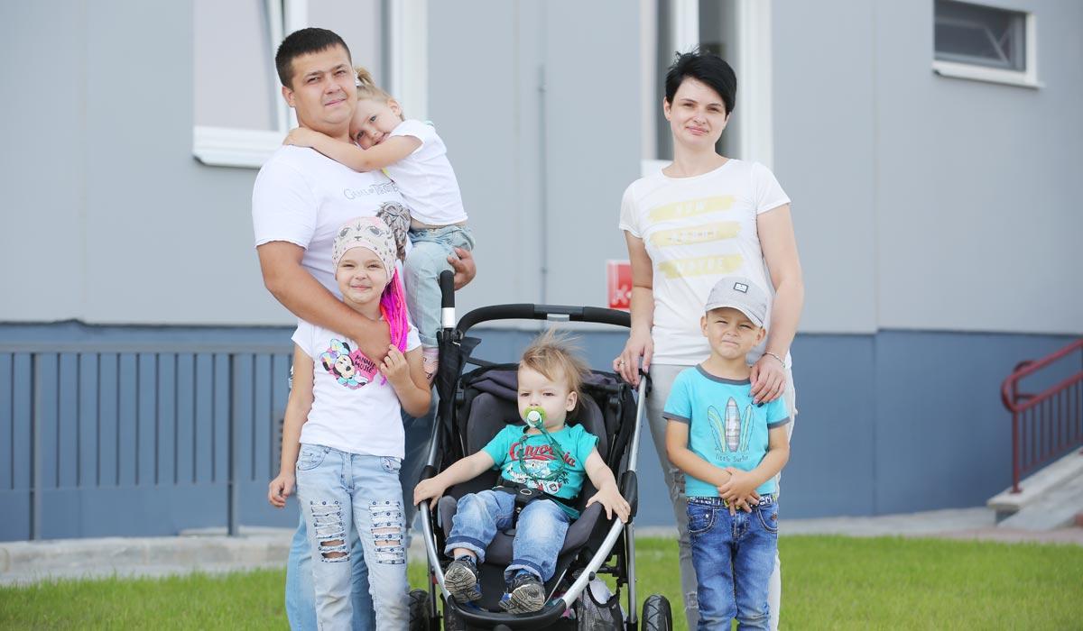 многодетная семья Усс