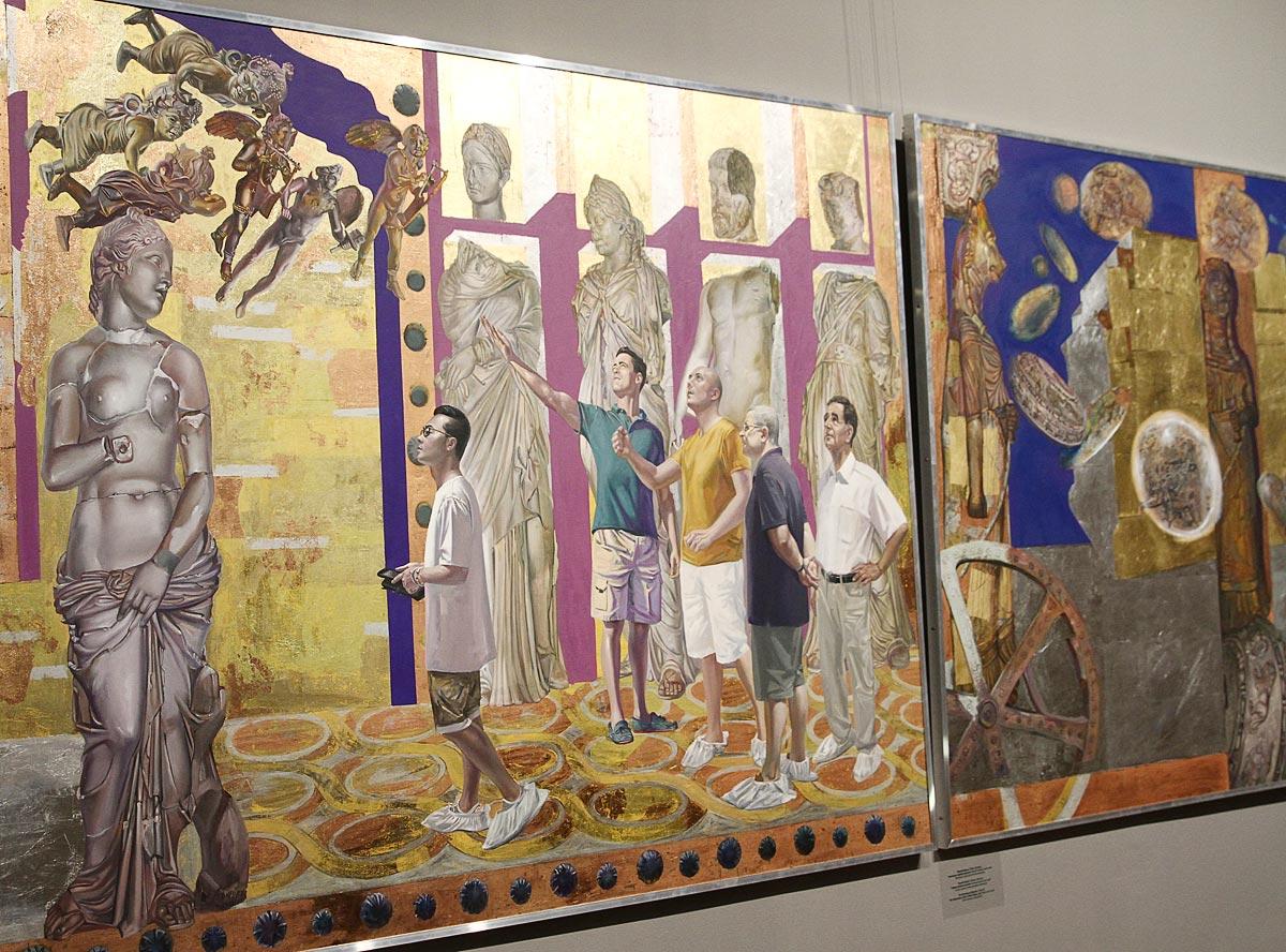 выставка точка отсчета, альшевский
