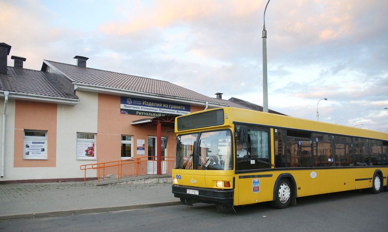 транспорт, автобус, минск