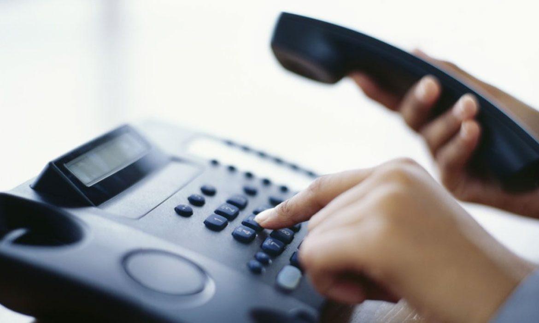 прямая линия, телефон, звонить