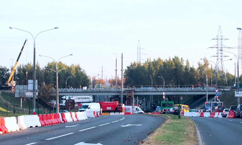 аварийный мост, лошица
