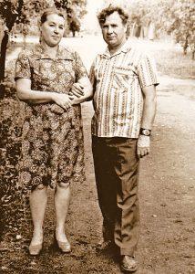 Родители Михаила Сидоренко
