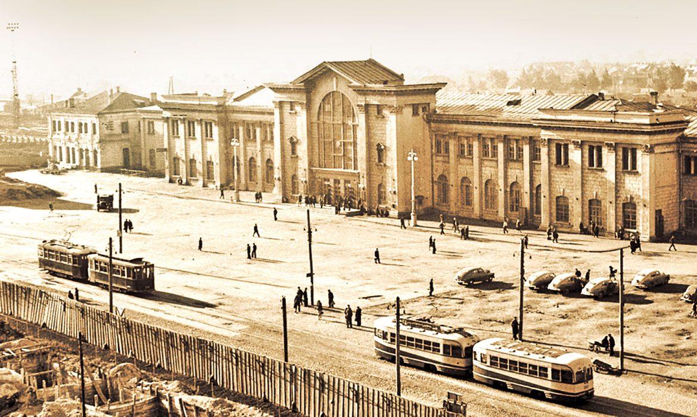 минск, здание вокзала