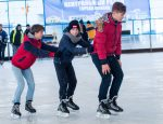катание на коньках, минск