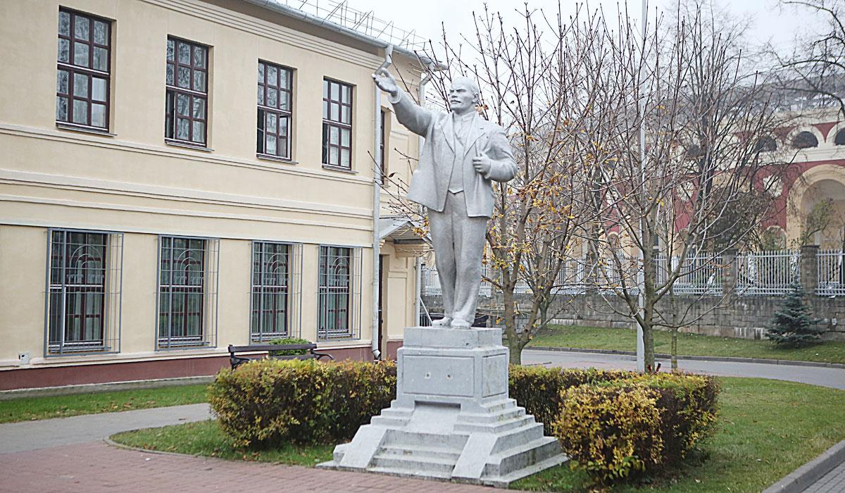 памятник ленину, минск