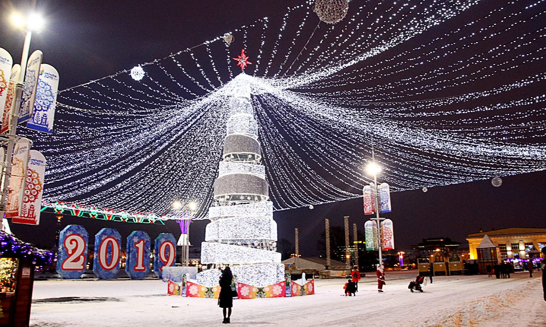 минск, новый год
