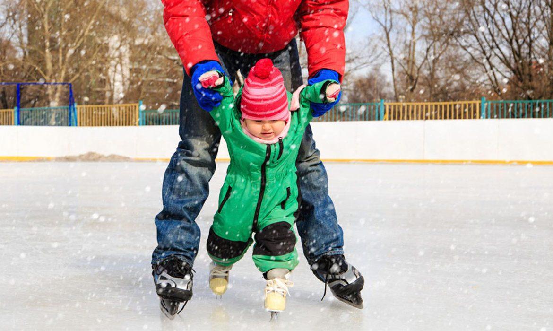кататься на коньках
