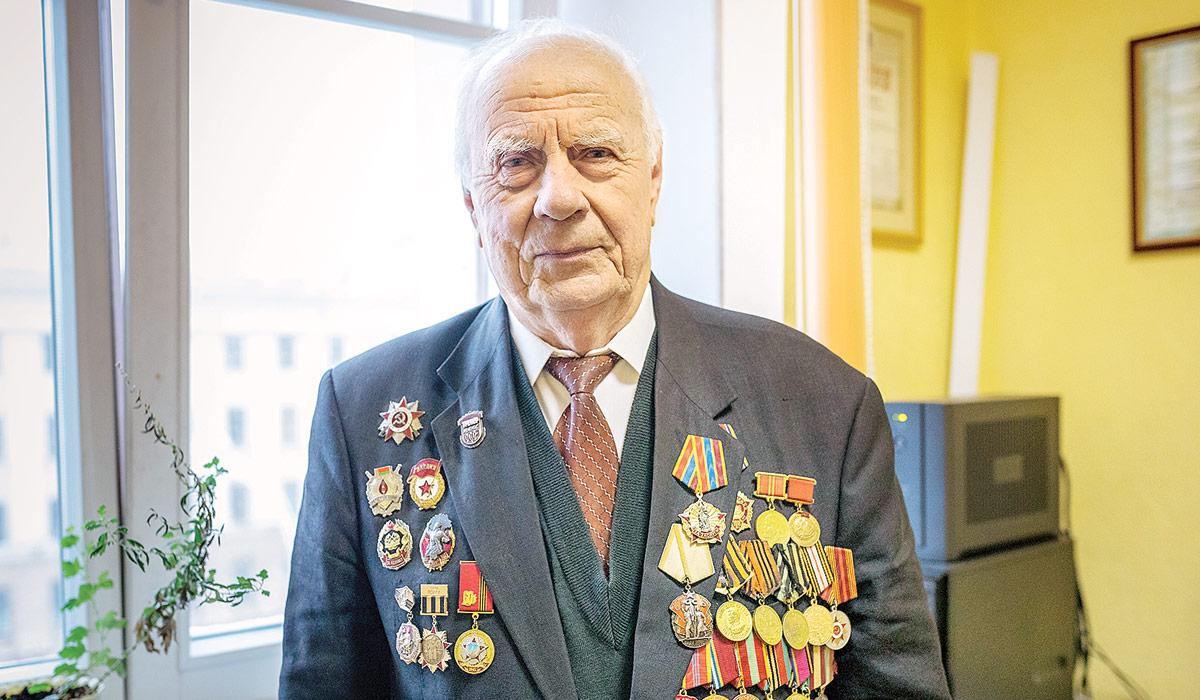 Василий Князев, ветеран