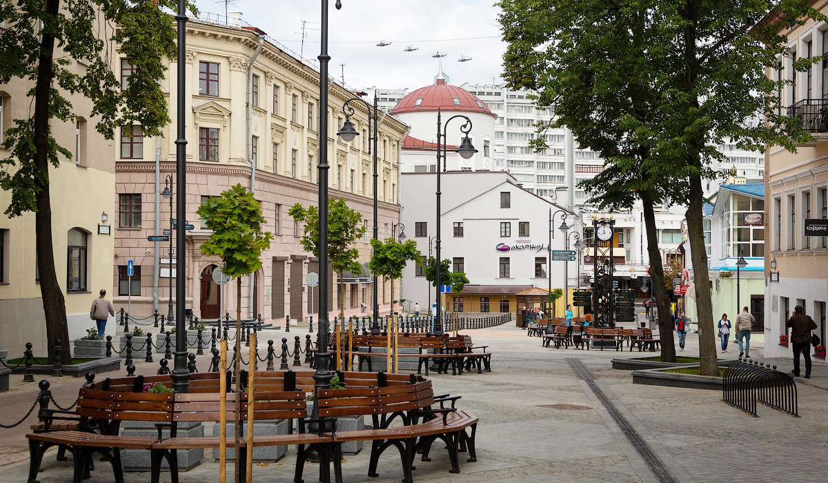 улица революционная, минск