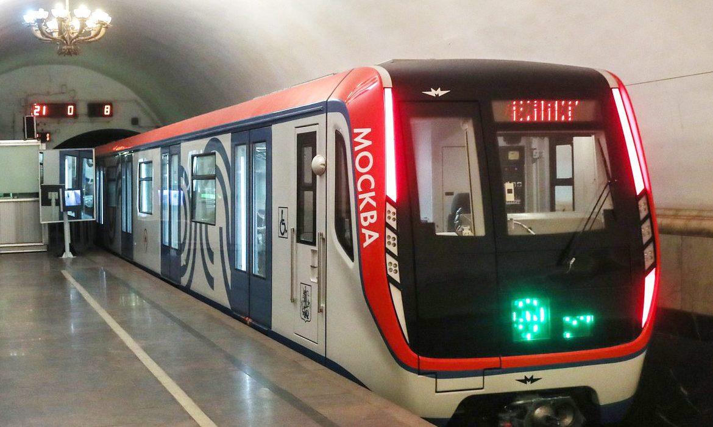 новые поезда в метро, москва