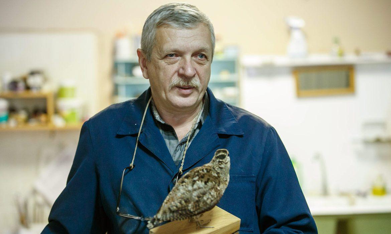 Анатолий Хоружий, таксидермист