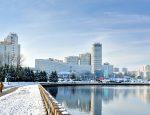 Минск, зима