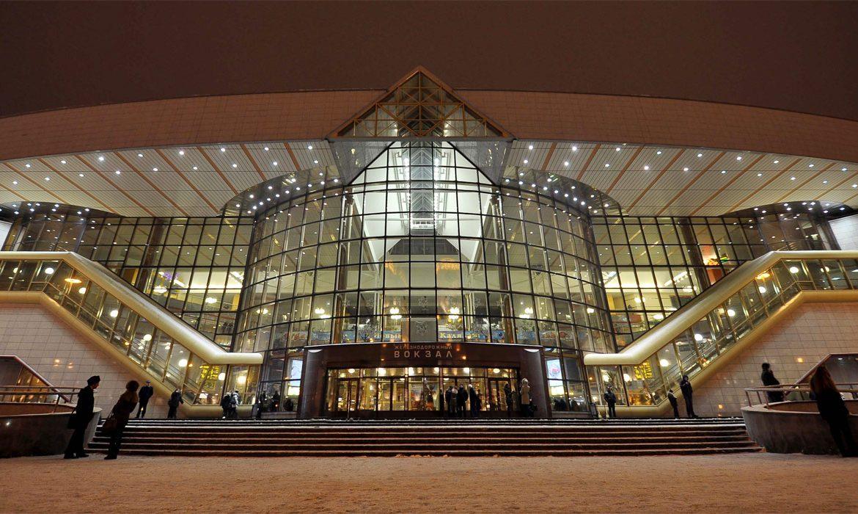 вокзал, минск