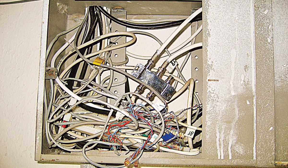 слаботочные кабельные сети