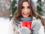 девушка, здоровье, зима