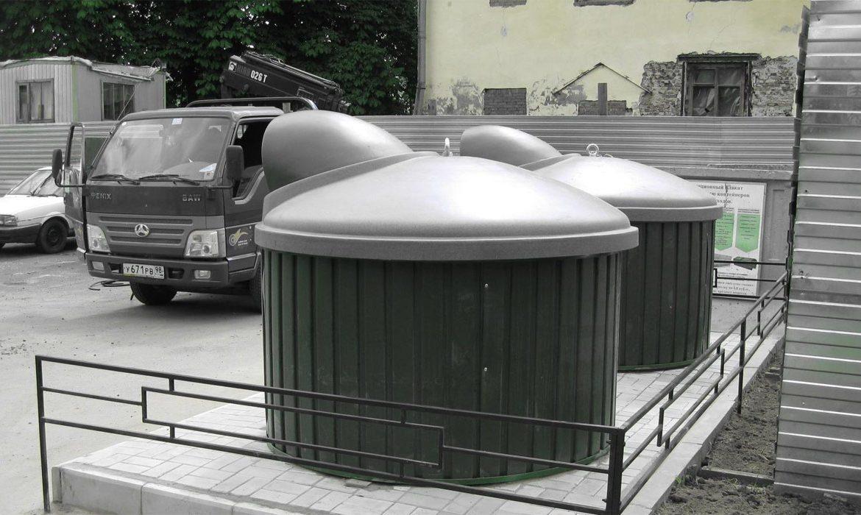 подземные контейнеры