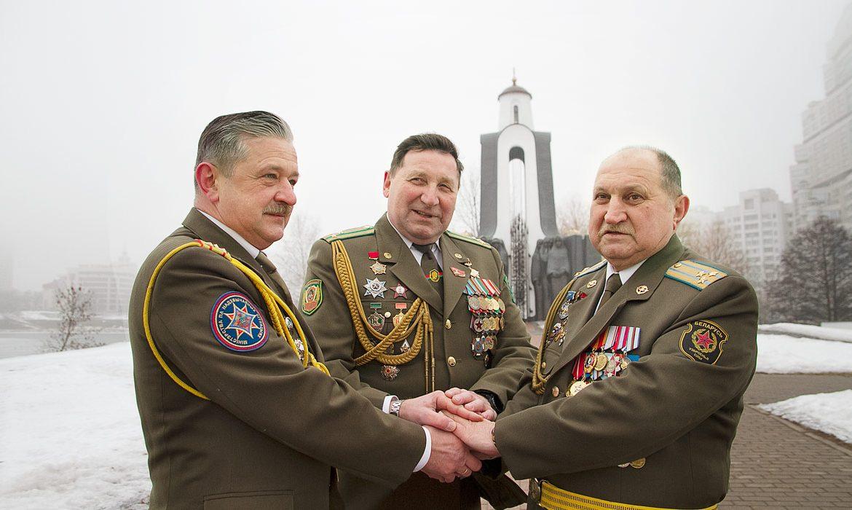 Дмитрий Сенько, Владимир Авласенко и Владимир Шарипов