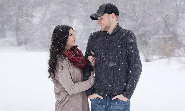 пара, зима
